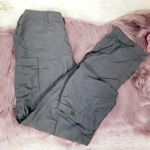 REI zippered shell pants